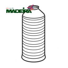 Нитки Madeira Aeroflock швейные текстурированные №100 1000м 9120
