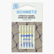 Иглы Schmetz стрейч № 75(3)-90(2) 5 шт. 130/705H-S