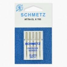 Иглы Schmetz для распошивальных машин № 80 5 шт. ELx705