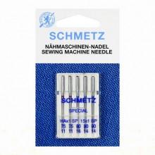 Иглы Schmetz супер стрейч № 75(2)-90(3) 5 шт. HAx1 SP