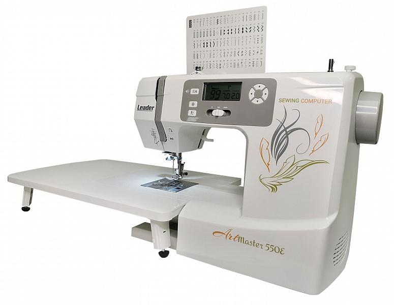 Швейная машина leader artmaster 550e аврора швейная машинка производитель страна